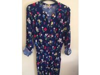 New never been worn Cath Kidston jumpsuit Size 8 (painted tulips)