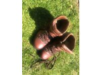 Walking hiking boots size 4