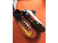 Nike sock football boots size 5.5