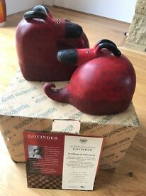 Govinder Nazran Scratch & Sniff Sculpture with COA and original box / packaging!