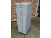 BISLEY STYLE 15 DRAWER METAL DRAWERS