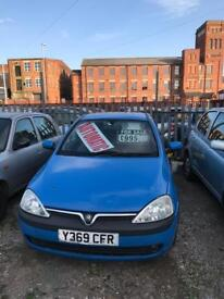Vauxhall corsa Automatic 1.2 petrol 3 doors hatchback 5 seater family car 2001 Y plate