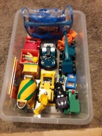 Bob the builder bundle of toys £10 8 original vehicles figure's