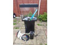 Juwel lido 120 litre fish tank and stand