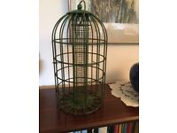 HANGING BIRD FEEDER for sale - Used but very strong and in good condition £13