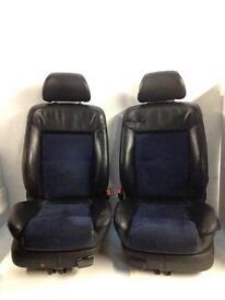 Vw Golf Gti Mk4 / Bora Half Leather / Alacantra Seats 2001 plate