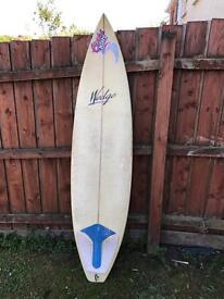 Wedge surfboard