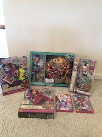 Ever after high bundle - Alice in Wonderland