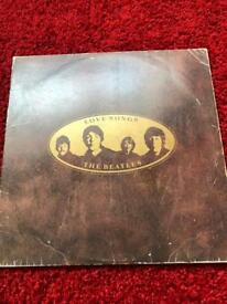 The Beatles Love Songs original 2 vinyl