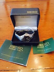 Seiko Kinetic Auto Relay Gents Watch