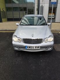 Mercedes C220 CD automatic GPS navigation,91800 miles 2 keepers,2 keys,full service history