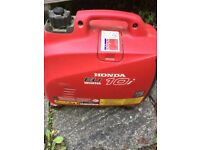 Honda EU10I Portable Generator Petrol or Gas