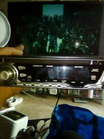JVC radio CD player