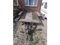 For sale car recovery trailer
