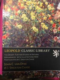The Desert: Further Studies in Natural Appearances by John C van Dyke