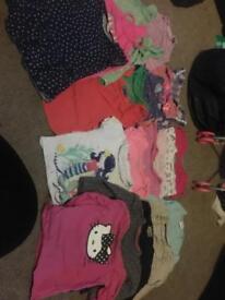 Girls t shirts 12-24
