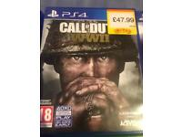 Cod WW2 Ps4 - immaculate condition £12