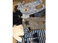 Bulk load/ job lot baby boys clothes
