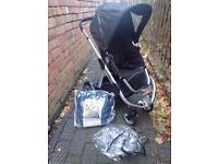 iCandy Apple Stroller with brand new footmuff