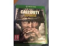 Cod WW2 Xbox one like new £12