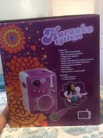 Childs Karaoke Machine