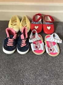 Girls Shoes Age 9-12 months
