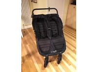 Baby Jogger City Mini GT Double Pushchair, Black GREAT CONDITION