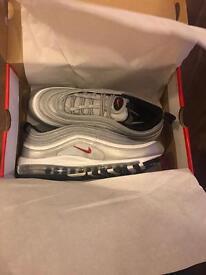 Nike Air Max 97 Silver Bullet UK7
