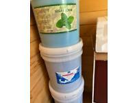 New Pedicure mint Foote scrub and Pedicure Sea salt for beauty salon