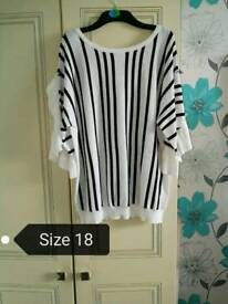 Bundle of size 16/18 tops
