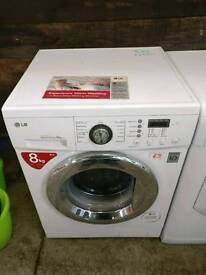 LG 8kg Washing Machine, FREE LOCAL DELIVERY AND INSTALL