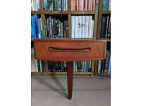Rare chance to buy a single G Plan Fresco floating bedside table & back panel gplanera