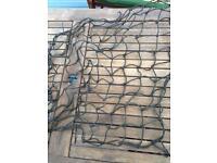 Roof rack elastic netting