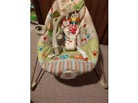 Fisher Price Woodsy Friends bouncer & Jungle Gym