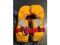 Crewsaver Supersafe 100N Lifejacket Child in excellent condition