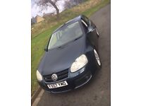2007 Volkswagen Golf GT-TSI (170bhp) 1.4 Petrol in Blue 5dr, 12months MOT. Excellent Condition.£2095