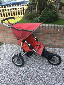 Nipper instep running buggy