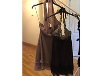 Dresses from Jane Norman, ASOS and Topshop size 6 - excellent condition.