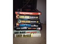 Various Books - Chris Ryan, Andy McNab + Others