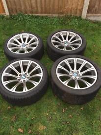 BMW e60 M5 alloys/tyres