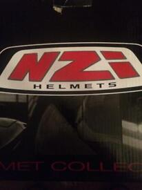 New NZI helmet- Capital visor bloom XL