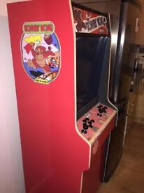Slimline Donkey Kong arcade machine