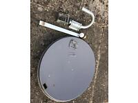 Satellite wall dish £20