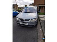 zafira 7 seater automatic