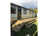 Static caravan: immaculate condition.