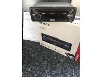 Sony Car Cd Player With Box