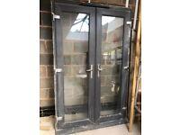 Upvc grey window and doors