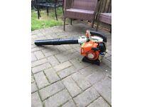 Petrol stihl leaf blower