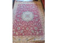 """Late aunties carpets wool Laura Ashley 76""""x54"""""""