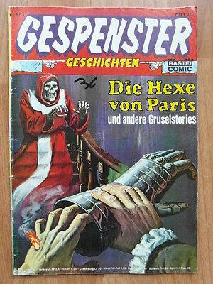 GESPENSTER GESCHICHTEN NR.1 BASTEI COMIC 1974